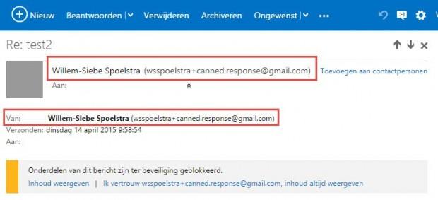 Nadelen van een autoresponder e-mail via Gmail
