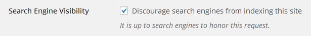 Blokkeer zoekmachine met virtueel robots.txt bestand in WordPress