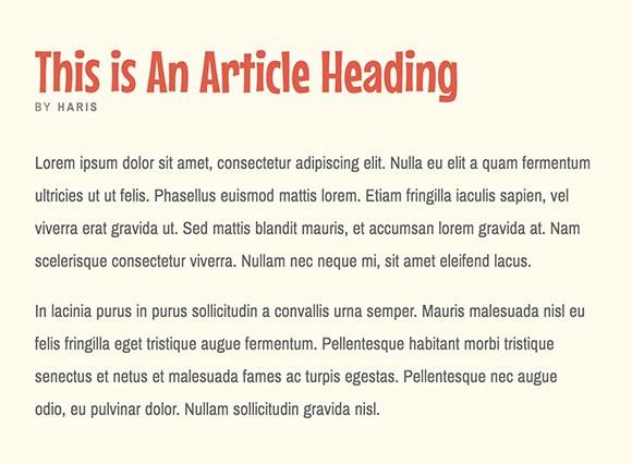 Lettertype website Archivo Narrow en Mouse Memoirs