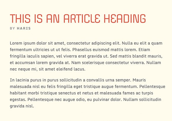 Lettertype website Monda en Offside