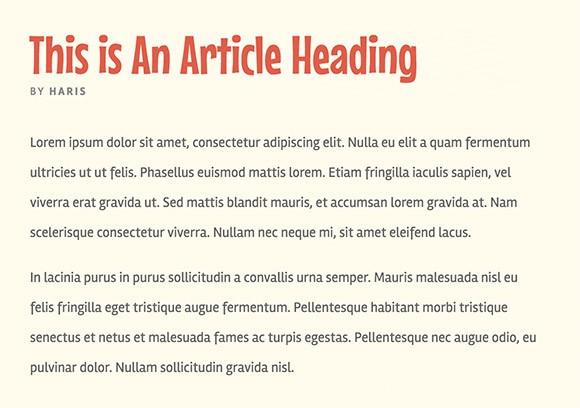 Lettertype website Rambla en Mouse Memoirs