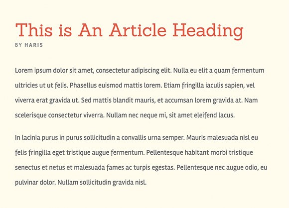 Lettertype website Rambla en Sanchez