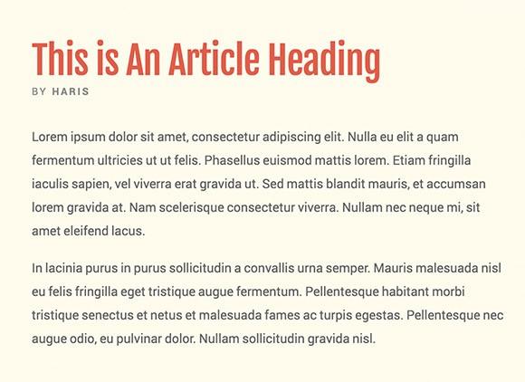Lettertype website Roboto en Fjalla One