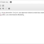 Bold en Italic in de WordPress editor
